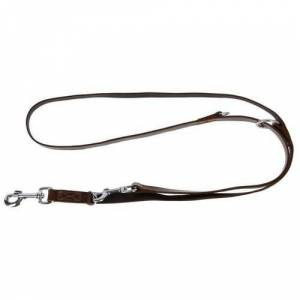 KERBL Laisse pour chien en cuir brun - 200 cm - Publicité