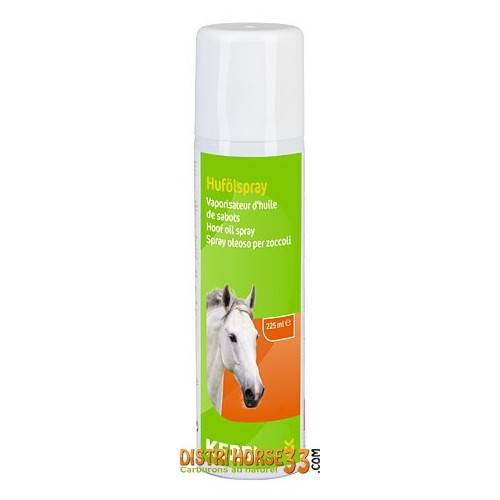 Albert Kerbl GmbH Huile pour sabots en Spray - Soin des sabots du cheval