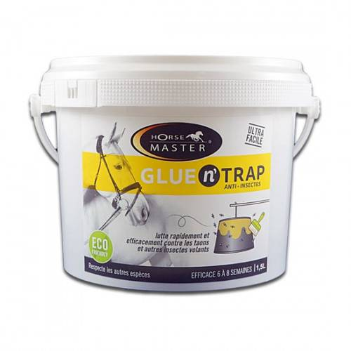 HORSEMASTER Glue n' Trap - Piège insectes volants - Contenance: 500 ml