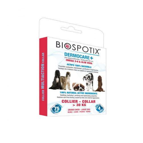BIOGANCE Dermocare+ Collier de soin cutané naturel pour grand chien