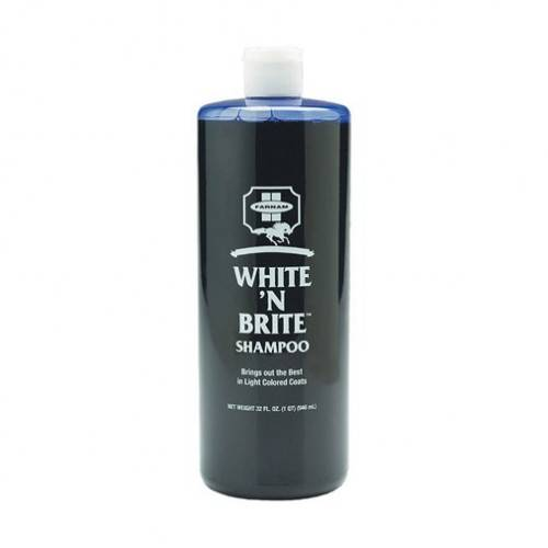 FARNAM Shampoing chevaux spécial robes claires - White'n Brite Shampoo