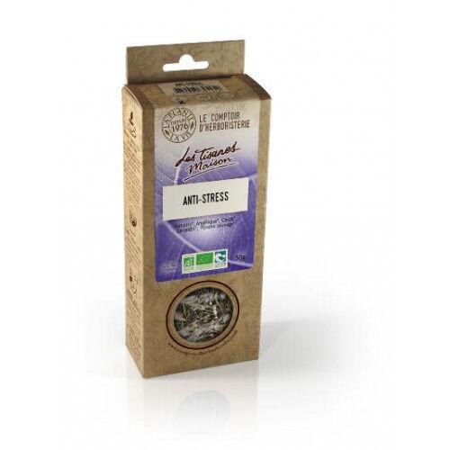 Le Comptoir d'Herboristerie Tisane Anti-Stress - A base de plantes Bio