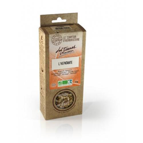Le Comptoir d'Herboristerie Tisane l'hepatante bio 50g - Drainante du foie