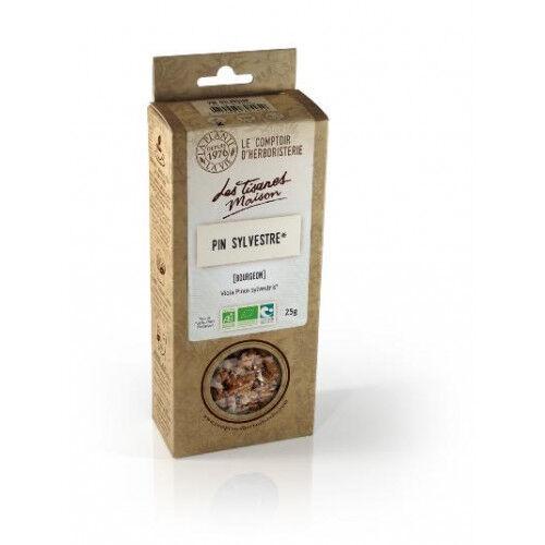 Le Comptoir d'Herboristerie Pin Sylvestre bio bourgeon 25g - Tisane Bio