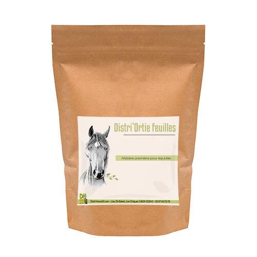 DISTRI'HORSE33 Distri'Ortie Feuilles - Sac de 500g - Ortie Cheval