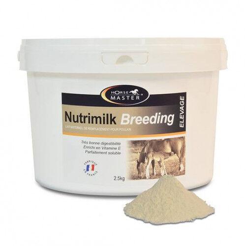 HORSEMASTER Lait substitution pour poulain orphelin - Nutrimilk Breeding - Contenance: 2.5 kg