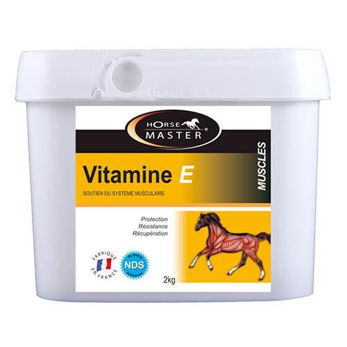 HORSEMASTER Vitamine E cheval - Récupération musculaire
