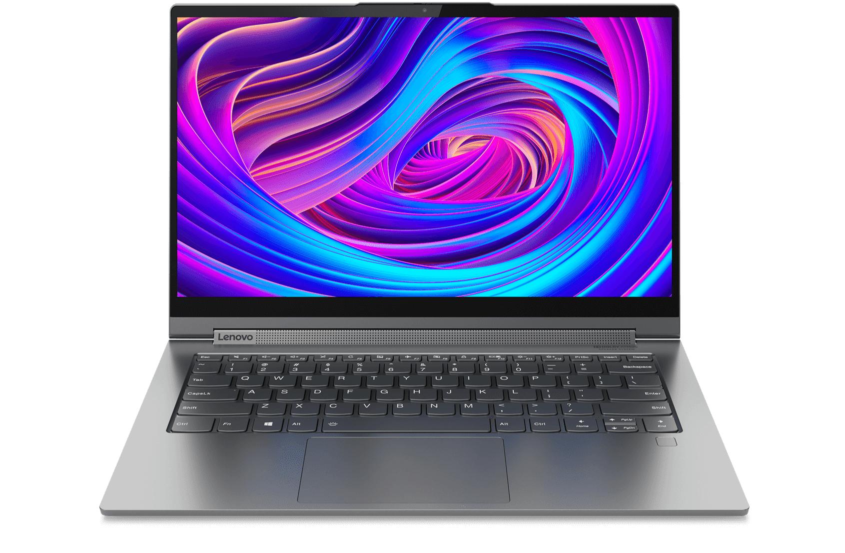 Lenovo Yoga C940 14 Processeur Intel® Core? i7-1065G7 10e génération 1,30 GHz, jusqu?à 3,90 GHz avec Turbo Boost, 4 c?urs, 8 Mo de cache, Windows10 Famille 64bits, 512 Go SSD M.2 2280 - 81Q9000YFR