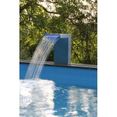 Ubbink Lame d'eau Straight LED pour piscines - Ubbink