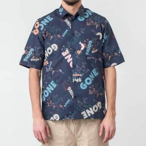 WOOD WOOD Thor Shirt Flowers Multi - male - L - Publicité