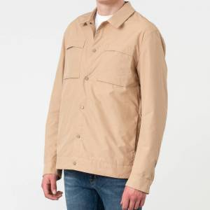 SELECTED Icon Shirt Jacket Cornstalk - male - XL