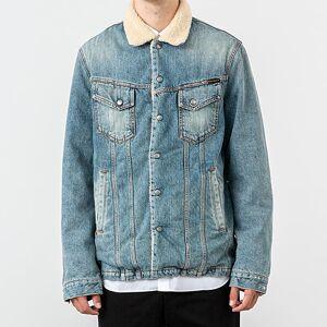 Nudie Jeans Lenny Jacket Favourite Shade Denim Blue - male - L