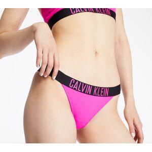 Calvin Klein Brazilian Swim Bikini Pink Glo - female - XL - Publicité