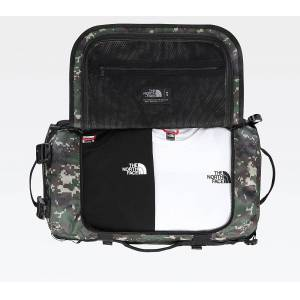 The North Face Base Camp Small Duffel Bag Olive - unisex - 50 litres - Publicité