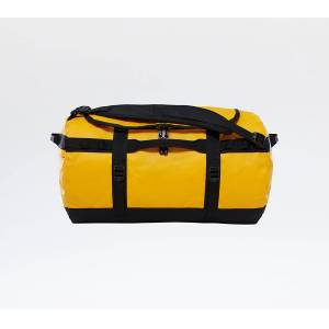 The North Face Base Camp Small Duffel Summit Gold/ Tnf Black - unisex - 50 litres - Publicité