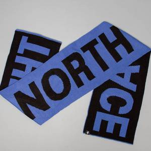 The North Face Logo Scarf Blue - unisex - Taille universelle