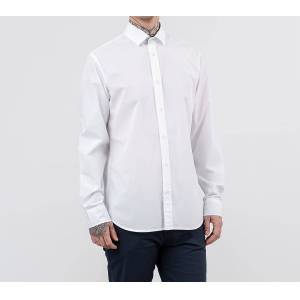 SELECTED Slim Fit Shirt White - male - M
