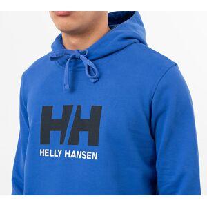 Helly Hansen Logo Hoodie Blue - male - L