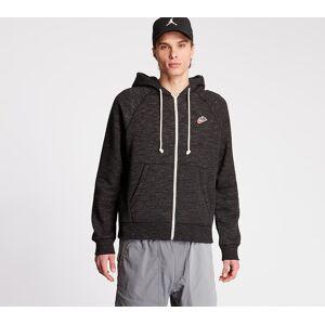 Nike Sportswear Heritage Fullzip SB Hoodie Black/ Grey Heater - male - M - Publicité