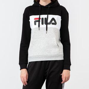 FILA Lori Hoodie Grey/ Black/ White - female - XL