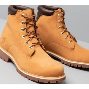 Timberland Alburn 6In Waterproof Boot Wheat Nubuck - male - 44.5 - Publicité