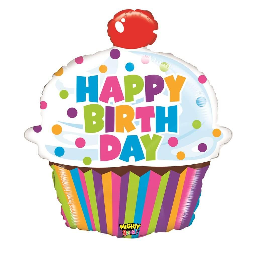 Grabo Ballon Birthday Cupcake 79cm