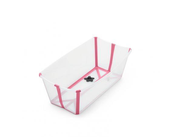 Stokke Baignoire pliante flexi bath® blanc (avec bouchon de vidange réactif à la chaleur)