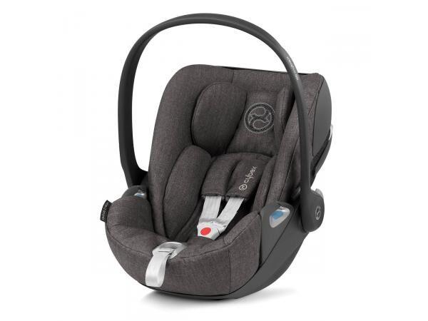 cybex siège-auto bébé cloud z i-size plus soho grey - mid grey