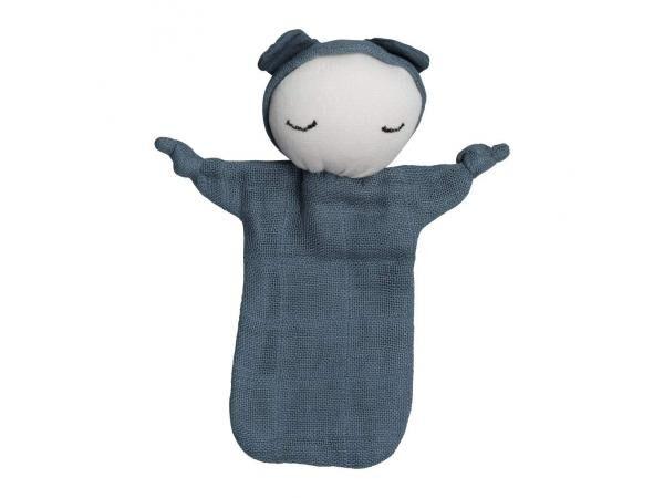 Fabelab Cuddle - doll - blue spruce 10 x 12.5 cm