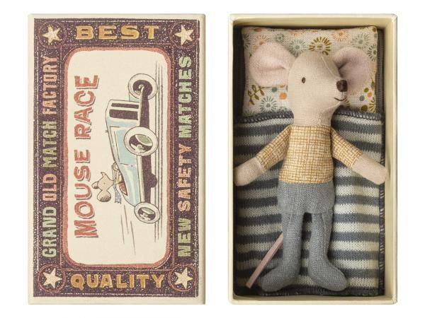 Maileg Little brother mouse in box - taille 10 cm - de 0 à 36 mois