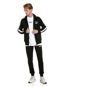 PUMA Blouson de survêtement Iconic T7 PT pour Homme, Noir, Taille M, Vêtements
