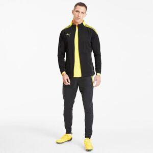 PUMA Blouson de foot ftblNXT Pro pour Homme, Noir/Jaune, Taille XL, Vêtements