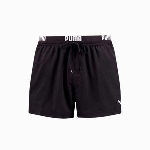 PUMA Short de bain court PUMA Swim Logo pour Homme, Noir, Taille L, Vêtements - Publicité