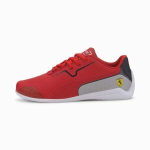 PUMA Chaussure Basket Ferrari Drift Cat 8 Youth pour Enfant, Rouge/Noir, Taille 35.5, Chaussures