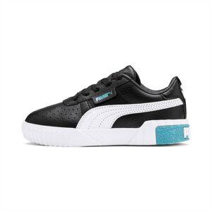 PUMA Chaussure Basket Cali pour enfant fille, Noir/Bleu, Taille 30, Chaussures