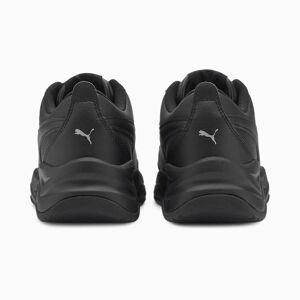 PUMA Chaussure Basket Cilia Mode enfants et adolescents, Noir/Blanc/Argent, Taille 36, Chaussures - Publicité