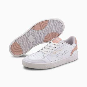PUMA Chaussure Basket Ralph Sampson Lo Perf Colour, Blanc/Rose, Taille 45, Chaussures - Publicité