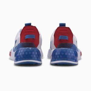 PUMA Chaussure Basket CELL Phase Running pour Homme, Blanc/Bleu, Taille 46, Chaussures - Publicité