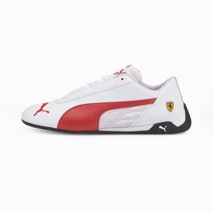 PUMA Chaussure Basket Ferrari R-Cat, Blanc/Rouge, Taille 38.5, Vêtements - Publicité