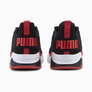 PUMA Chaussure Basket Anzarun, Noir/Rouge, Taille 44, Chaussures - Publicité