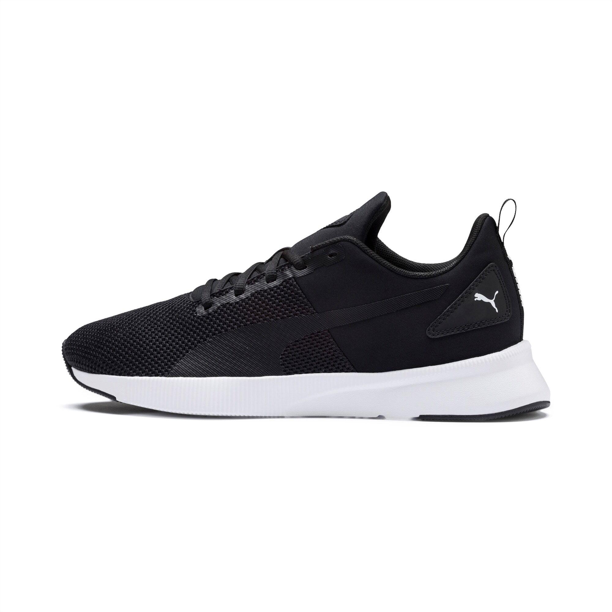PUMA Chaussure de course Flyer Runner, Noir/Blanc, Taille 44.5, Chaussures