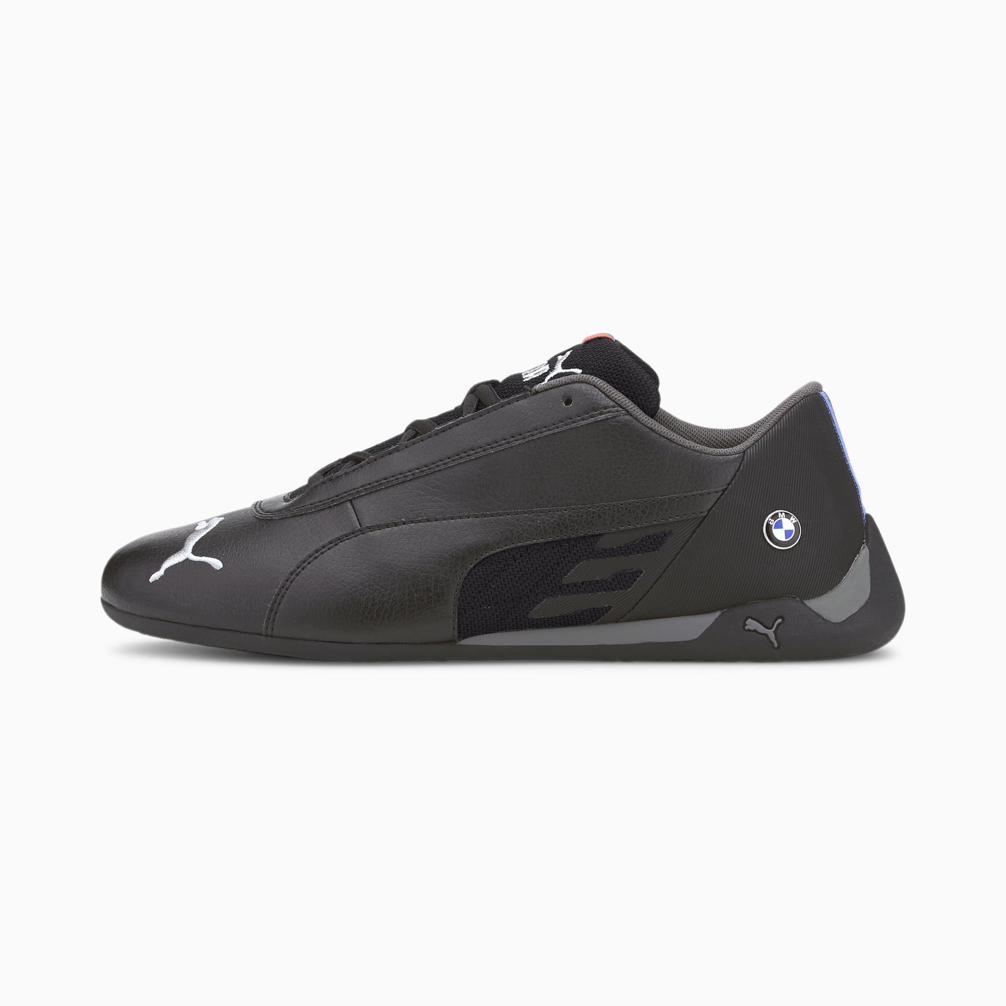 PUMA Chaussure de course BMW M Motorsport R-Cat, Noir, Taille 42.5, Vêtements
