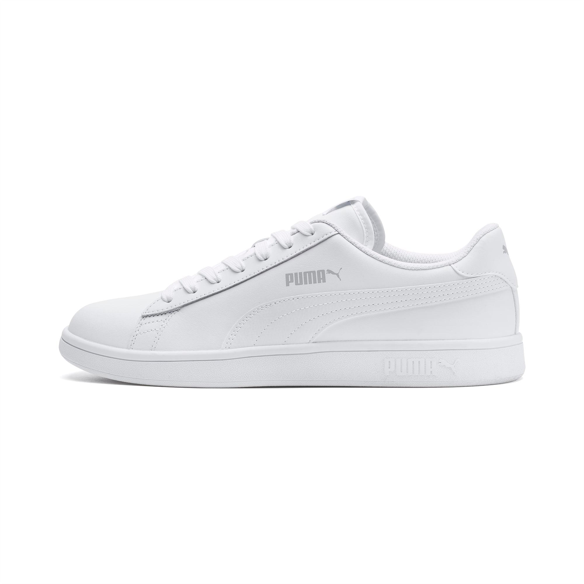 PUMA Chaussure Puma Smash v2 L, Blanc, Taille 37.5, Chaussures