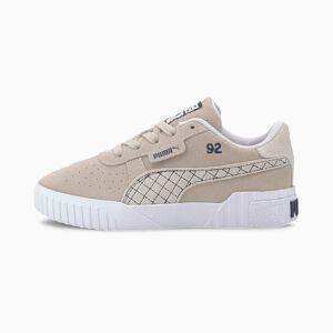PUMA Chaussure Basket PUMA x SELENA GOMEZ Cali Suede Quilt pour fille, Argent/Gris/Blanc, Taille 28.5, Chaussures