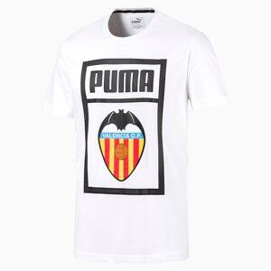 PUMA T-Shirt Valencia CF Shoe Tag pour Homme, Blanc, Taille XL, Vêtements