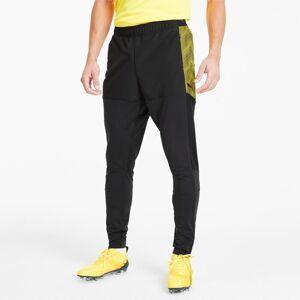 PUMA Pantalon de survêtement ftblNXT Pro pour Homme, Noir/Jaune, Taille XL, Vêtements