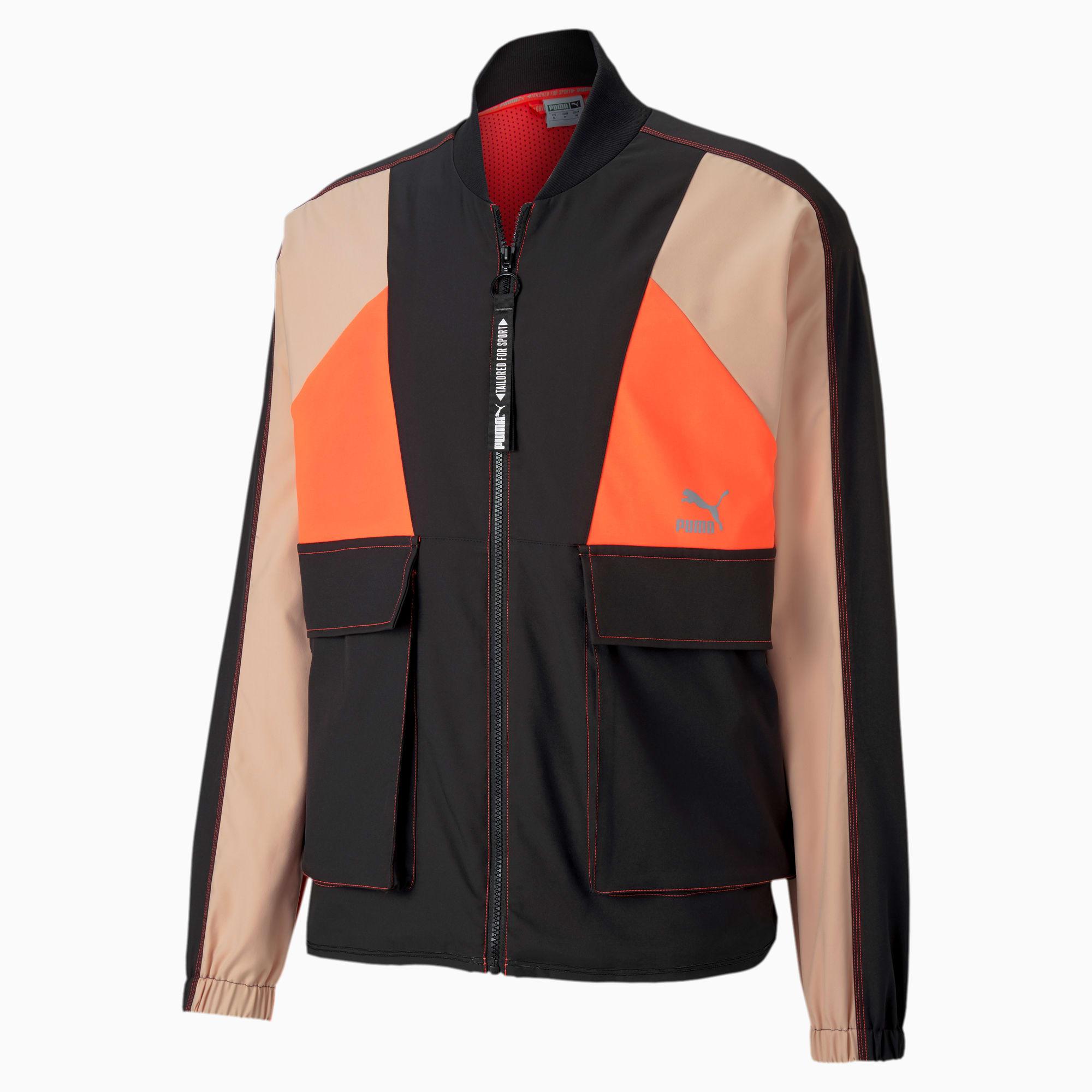 PUMA Blouson de survêtement Tailored for Sport Industrial pour Homme, Noir, Taille L, Vêtements