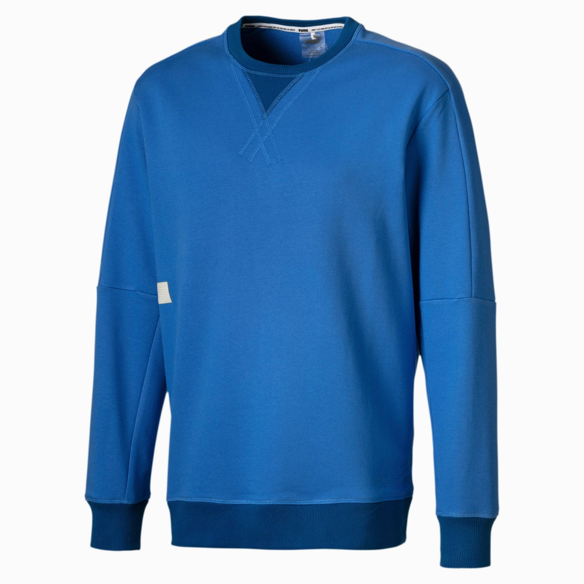 PUMA Sweat Jump Hook Basketball pour Homme, Bleu, Taille 4XL, Vêtements