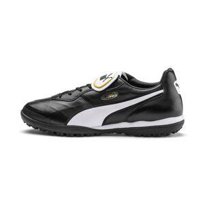 PUMA Chaussure de foot KING TOP TT, Noir/Blanc, Taille 46, Vêtements - Publicité