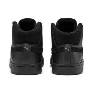 PUMA Chaussure montante Smash v2 Mid Winterized en cuir pour Homme, Noir/Gris, Taille 37.5, Chaussures - Publicité